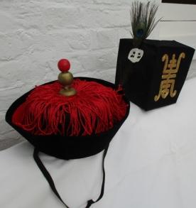 court runners & official hats