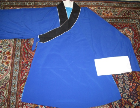 Chayi 103cm with watersleeves shown folded up