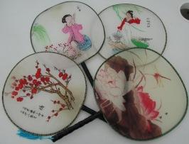 Round fans