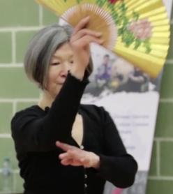 Folding fan demo Wenlin workshop 2018
