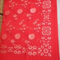 Embroidered silk oblong CU 2